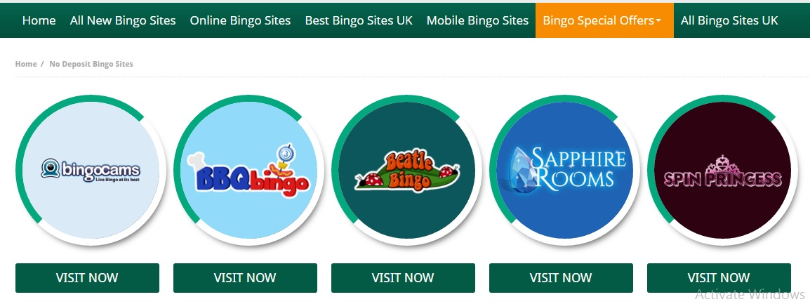 NO DEPOSIT BINGO SITES, IS IT REAL