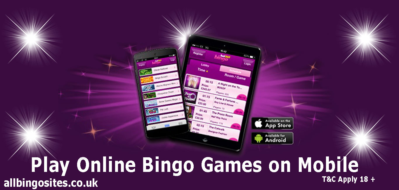 Play Online Bingo Games on Mobile