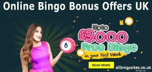 Online Bingo Bonus Offers UK