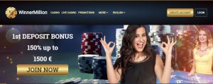Winner Million Casino | Get Exclusive Welcome Bonus | Best New Online Casino Sites UK