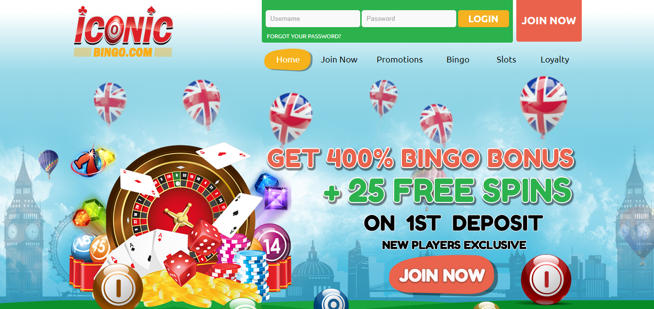 Iconic Bingo is the Best Online Bingo Site making winning very easy