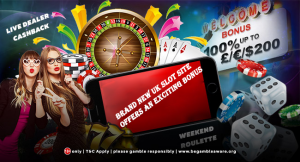 Brand New UK Slot Site offers an Exciting Bonus