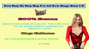 New Step By Step Map For All New Bingo Sites UK