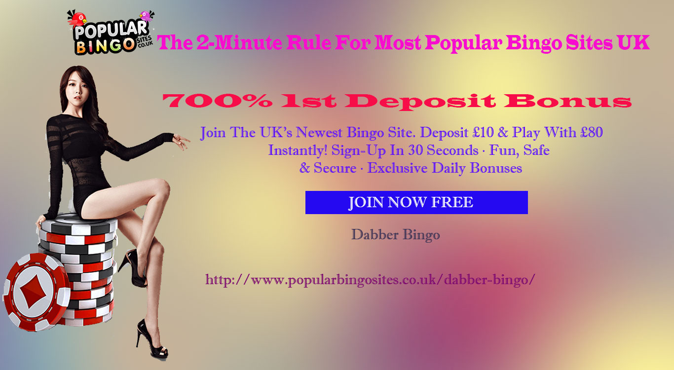 The 2-Minute Rule For Most Popular Bingo Sites UK