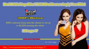 Best Mobile bingo Sites UK 2018 with over simply Your Shirt