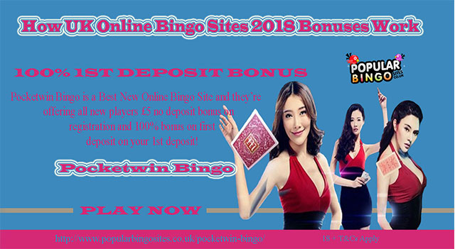 How UK Online Bingo Sites 2018 Bonuses Work