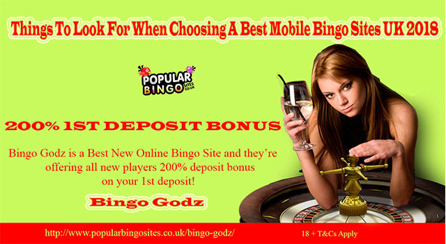 Things To Look For When Choosing A Best Mobile Bingo Sites UK 2018