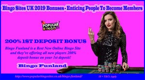 Bingo Sites UK 2019 Bonuses – Enticing People To Become Members