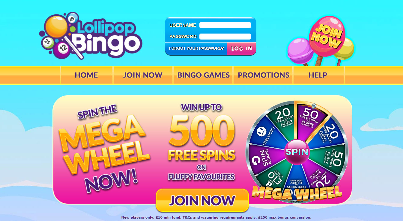 Lollipop-Bingo-banner