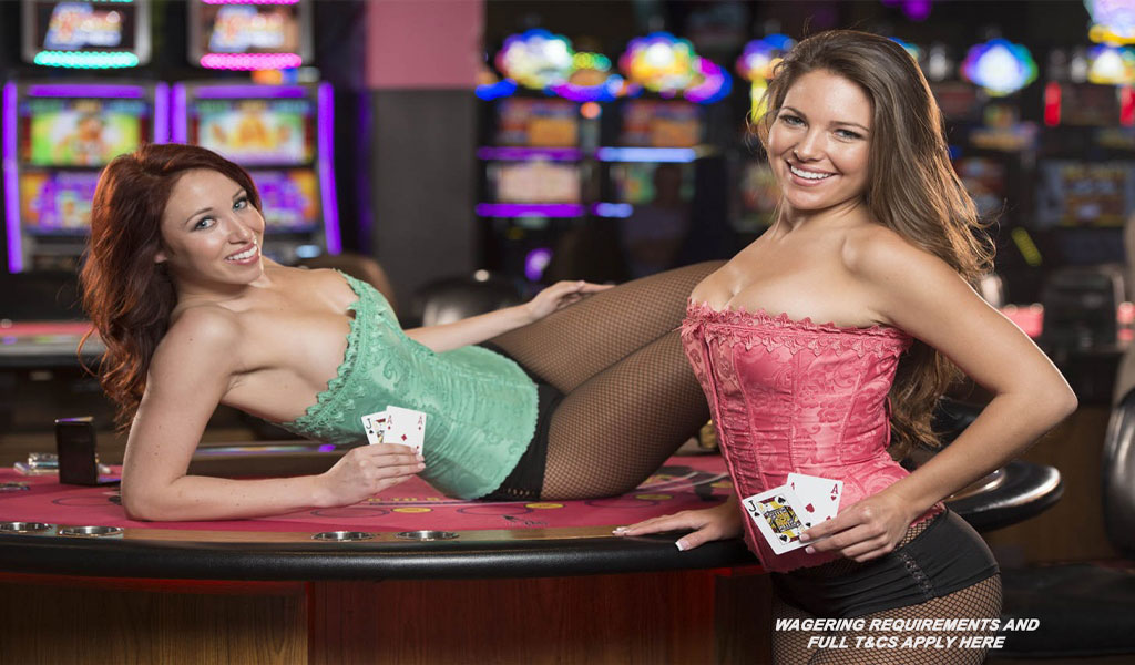 Zig-Zag-Girls-Holding-Cards-at- Divine Slots