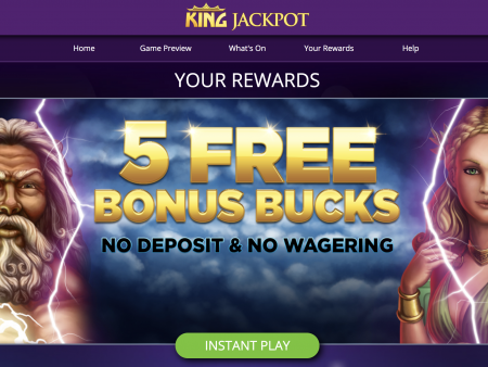 Play King Jackpot Casino online for real money